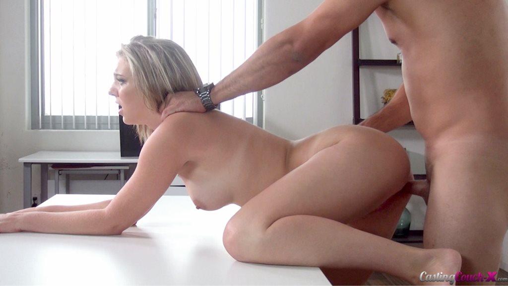 Incredible Big Tits MILF Creampie on Backroom Casting